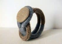 Imagenes de pulseras tejidas a crochet faciles de hacer
