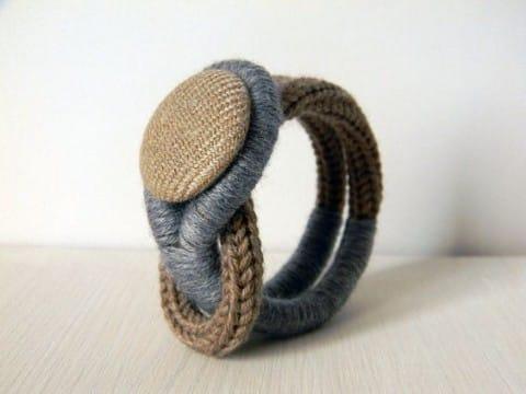 imagenes de pulseras tejidas para hombres