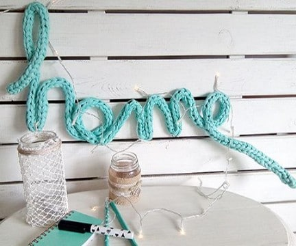 labores en crochet para el hogar cocina