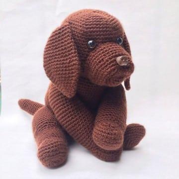 perritos tejidos a crochet amigurumi