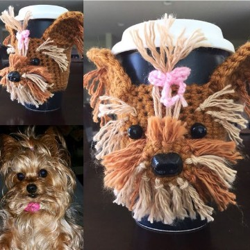 perritos tejidos a crochet español
