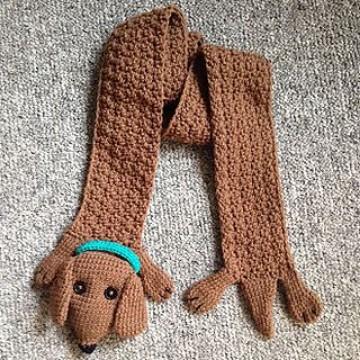 perritos tejidos a crochet ganchillo
