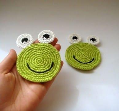 portavasos en crochet patrones