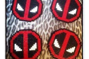 Imagenes de posavasos hama beads diseños divertidos