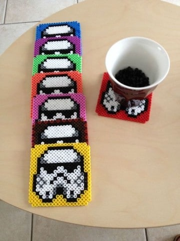 posavasos hama beads star wars