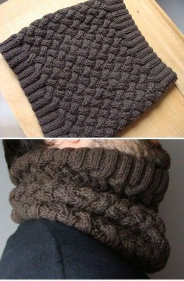 Puntos para tejer bufandas y patrones de diseños modernos | Tejidos ...
