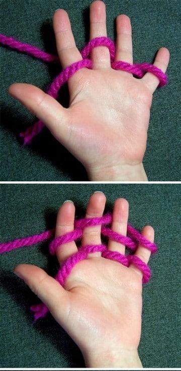 puntos para tejer bufandas faciles