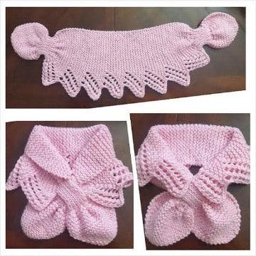 puntos para tejer bufandas mujer