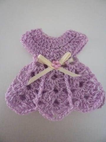 recuerdos tejidos para baby shower adornos