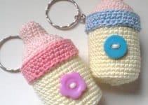 Ideas de recuerdos tejidos para baby shower patrones gratis