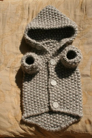 ropa tejida para perros crochet