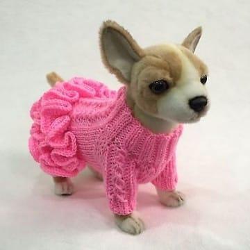 ropa tejida para perros facil