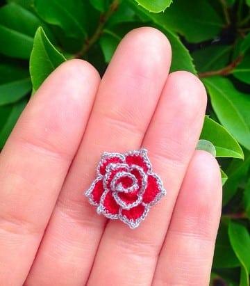 rosas a crochet paso a paso sencilla
