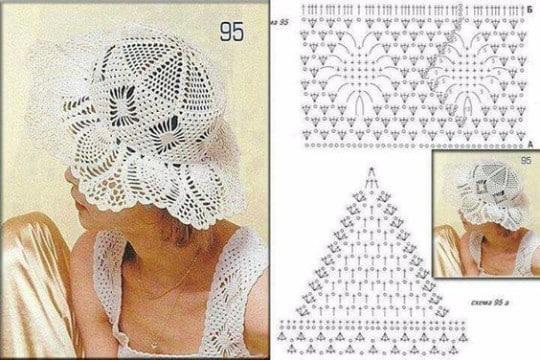 sombreros en crochet con patrones1