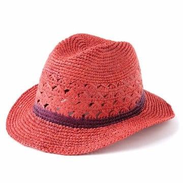 sombreros en crochet para el verano1