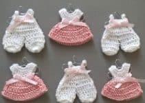 Imagenes de souvenirs tejidos a crochet bonitos modelos