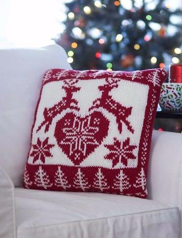 tejidos a crochet navideños cojines