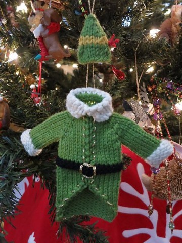 tejidos a crochet navideños muñecos