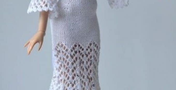 patrones de vestidos tejidos para muñecas | Tejidos a crochet paso a ...