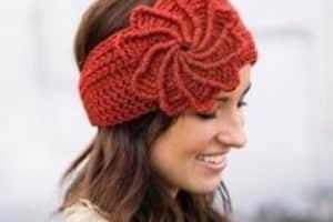 Vinchas a crochet patrones gratis y pasos a seguir