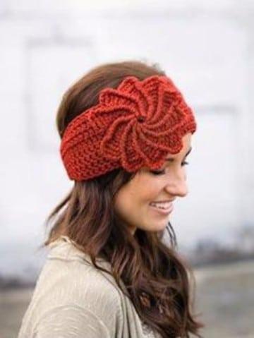 vinchas a crochet patrones tejidas