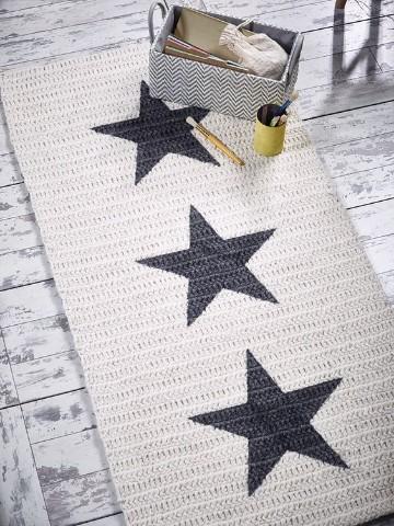alfombra trapillo rectangular totora