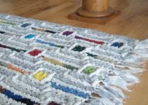 Aprende como hacer alfombra trapillo rectangular paso a paso