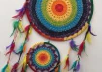 Como hacer faciles y hermosos atrapasueños a crochet