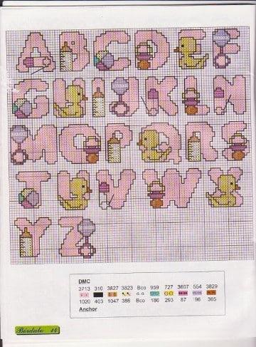 Hermosos Diseños Para Aprender Hacer Baberos Punto De Cruz