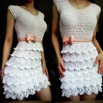 blusas tejidas a crochet hermosas 2017