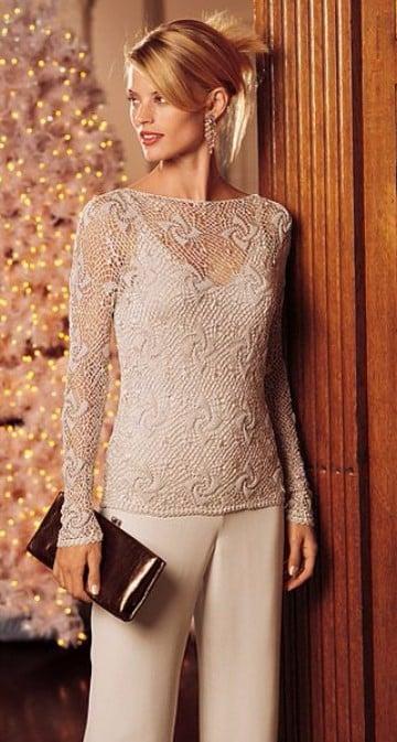 blusas tejidas a crochet rusas modernos