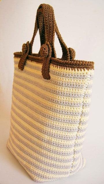 Aprende hacer bolsos de ganchillo faciles en sencillos pasos tejidos a crochet paso a paso - Bolsos tejidos a ganchillo ...