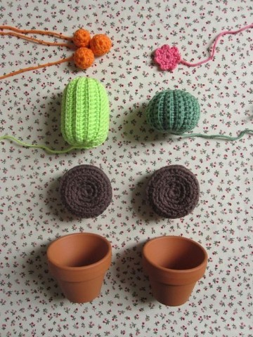 cactus tejidos al crochet como realizarlos