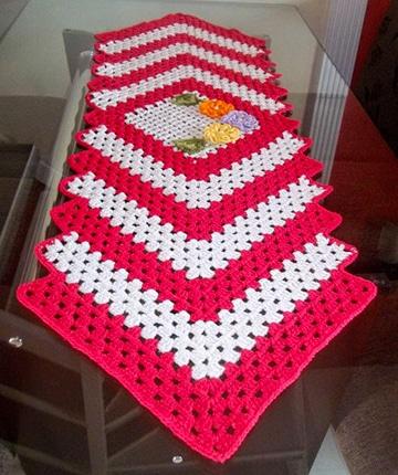 caminos de mesa bordados de navidad