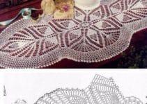 Imagenes con hermosos diseños de caminos de mesa en crochet