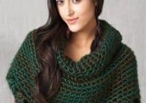 Aprende hacer hermosas capas tejidas a crochet paso a paso