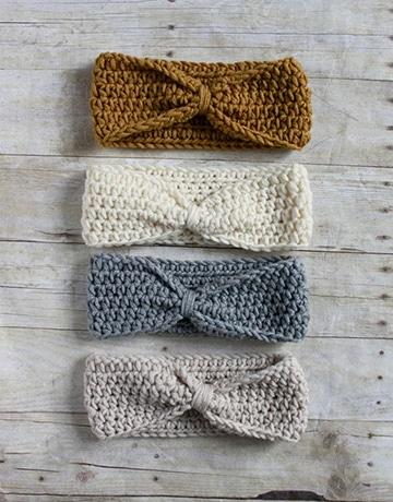 cintillos tejidos a crochet paso a paso