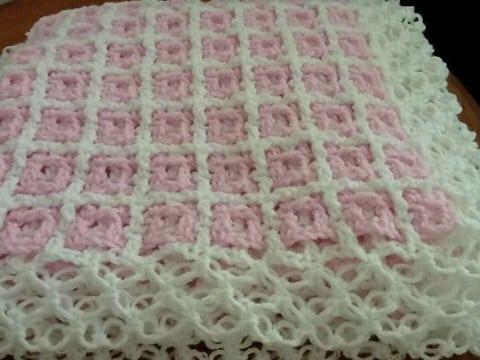 colchas a crochet para bebes ganchillo