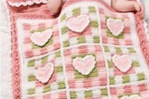 Como hacer diseños faciles de colchas a crochet para bebes