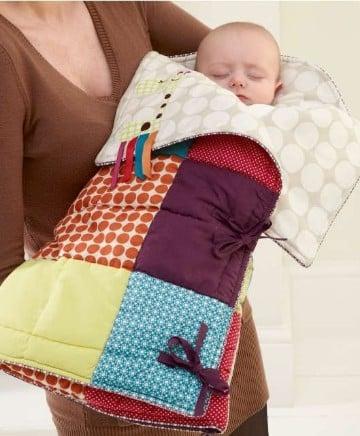 colchas a crochet para bebes modelos