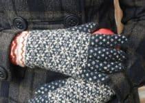 Aprende hacer varios modelos de guantes tejidos a gancho