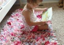 Como hacer alfombra de trapillo facil paso a paso