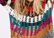 Imagenes con increibles modelos de jerseys de ganchillo