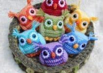 Como aprender a tejer lechuzas al crochet paso a paso