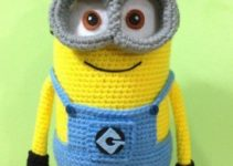 Aprende como hacer minions a crochet super faciles