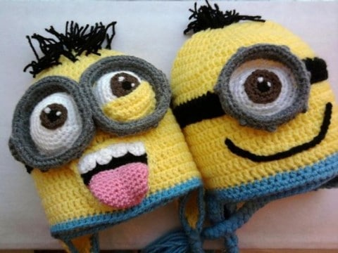 minions a crochet tejidos