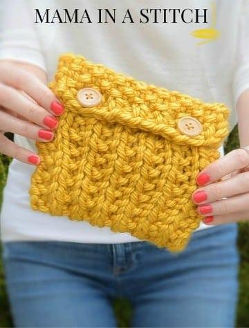 modelos de bolsos tejidos a mano