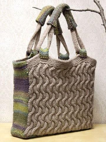 modelos de bolsos tejidos en crochet