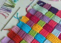 Sencillas y bonitas puntadas en crochet para colchas