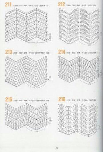 puntadas en crochet para colchas patrones